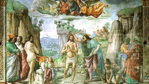 """Battesimo del Signore. """"Si aprirono per lui i cieli"""""""