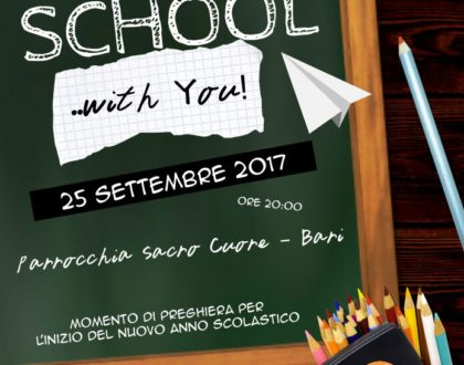 Back to School ... with You - A.C. Diocesana