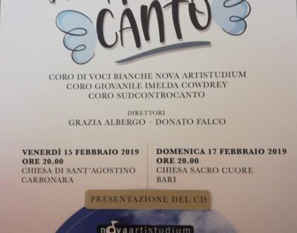"""Concerto """"Sulle Ali del Canto"""" - presentazione CD"""