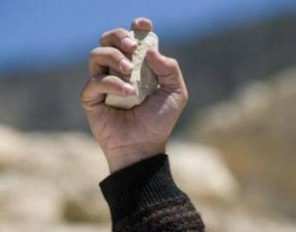 V Domenica di Quaresima. La pietra