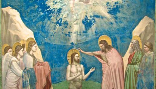 Battesimo di Gesù. Si aprirono per lui i cieli