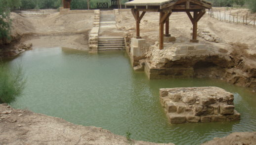 Battesimo del Signore.  Risalire dall'acqua